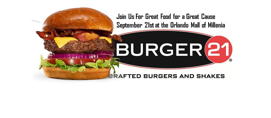 Burger 21 Fundraiser